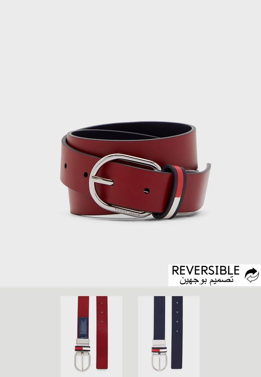 Reversible Allocated Hole Belt 3.0