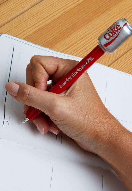 قلم مزين بشكل كولا دايت