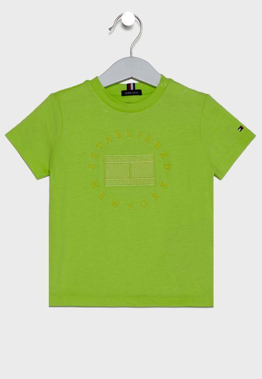 Kids Heritage Logo T-Shirt