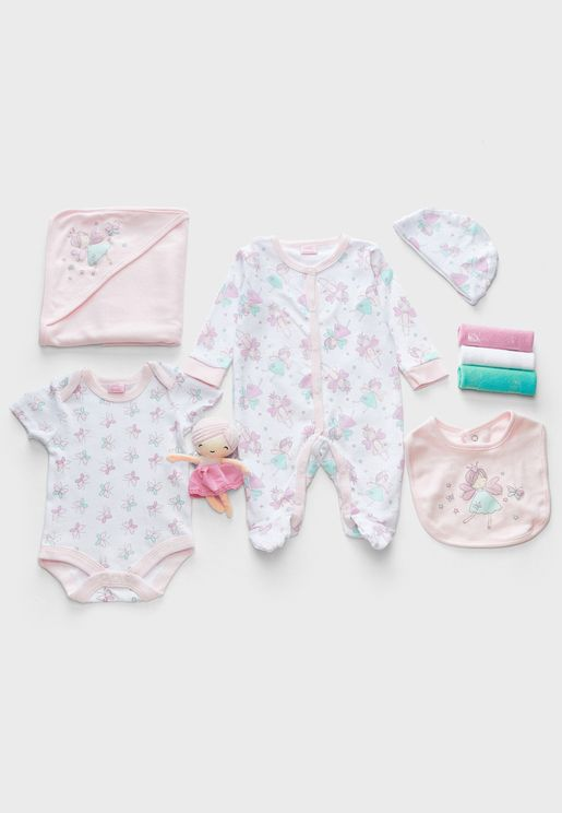 Infant 10 Piece Fairy Gift Set