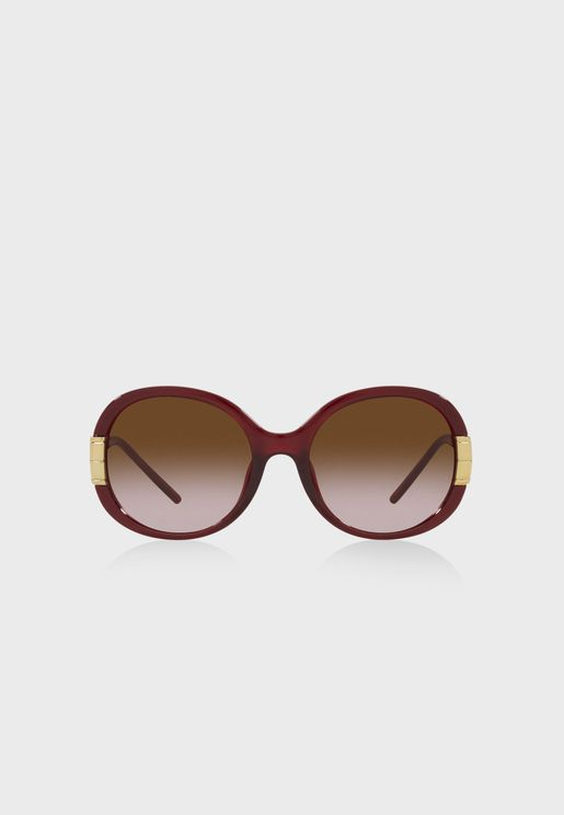 0Ty9061U Oversized Sunglasses
