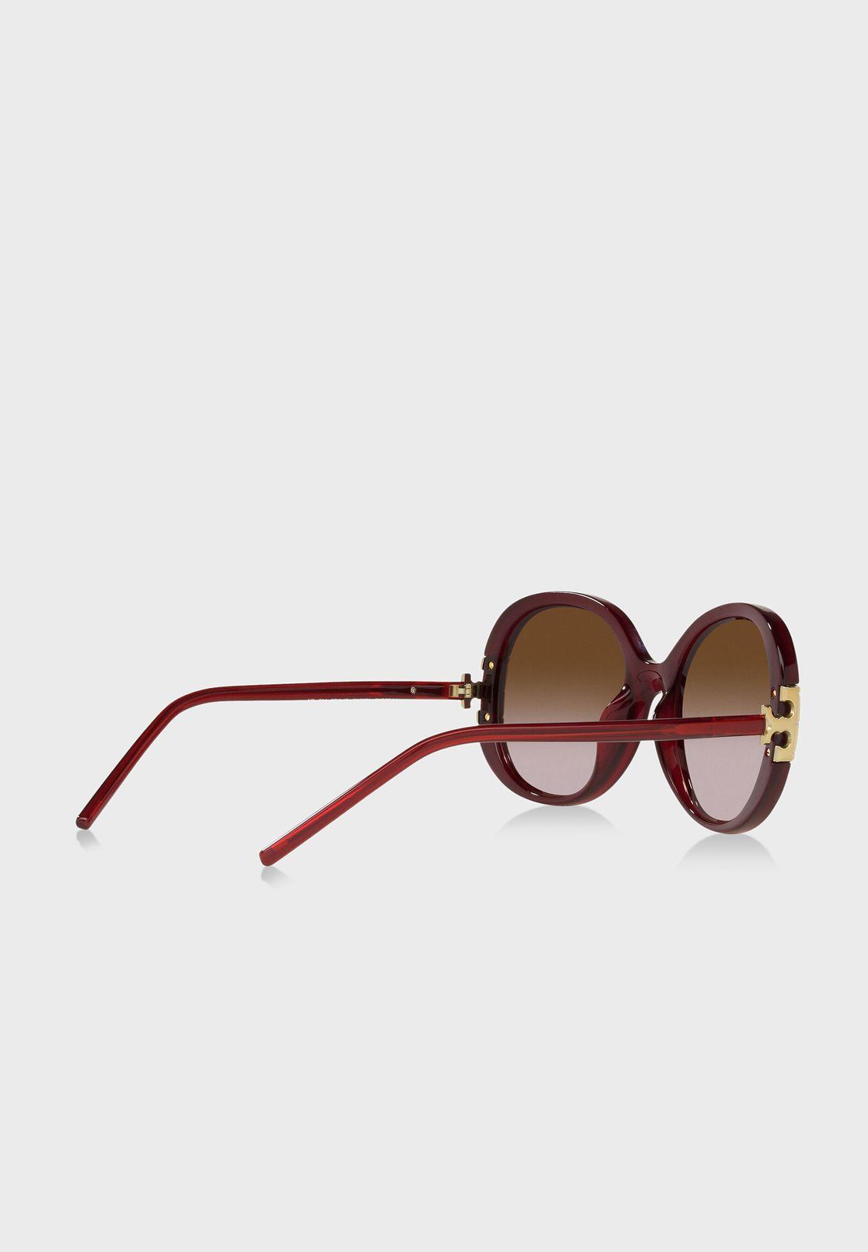 0Ty9061U Oversized Sunglasses