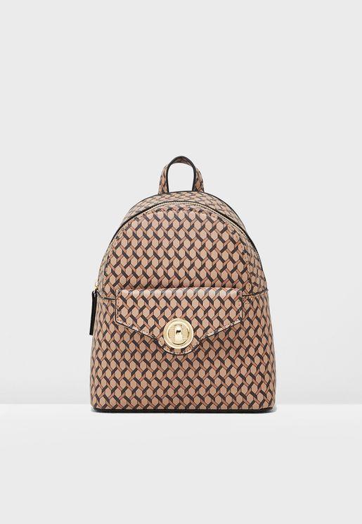 Bertie Monogram Backpack