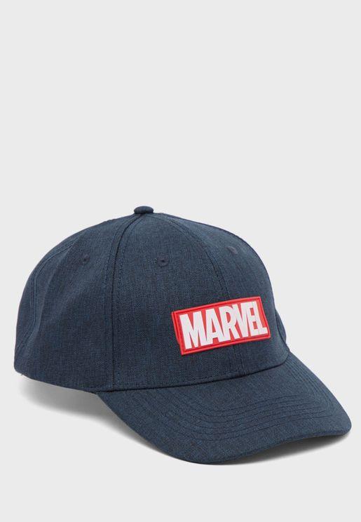 Marvel Curved Peak Cap