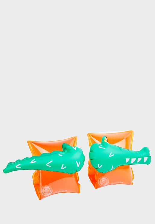 Crocodile Pool Float Arm Bands