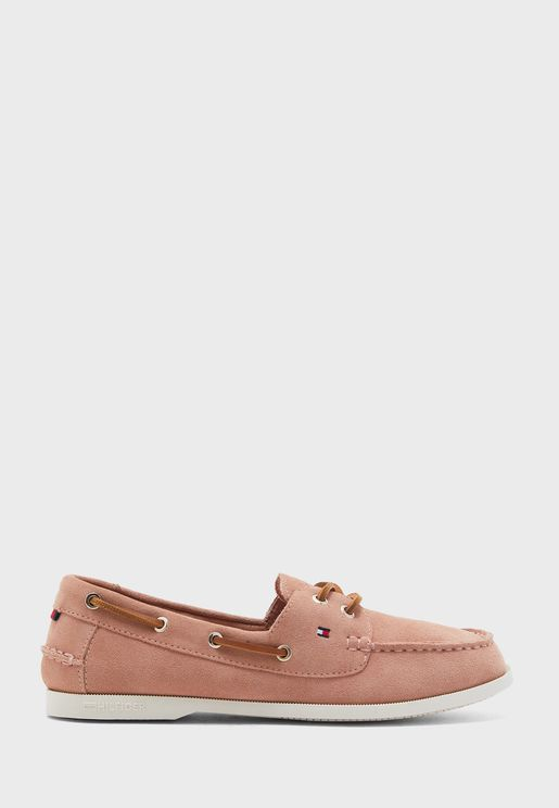Classic Suede Boat Moccasin - DW5