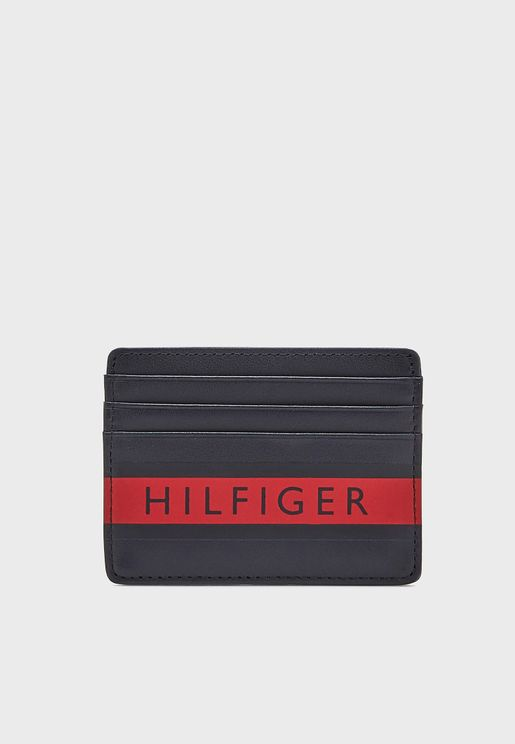 Logo Stripe  Card Holder
