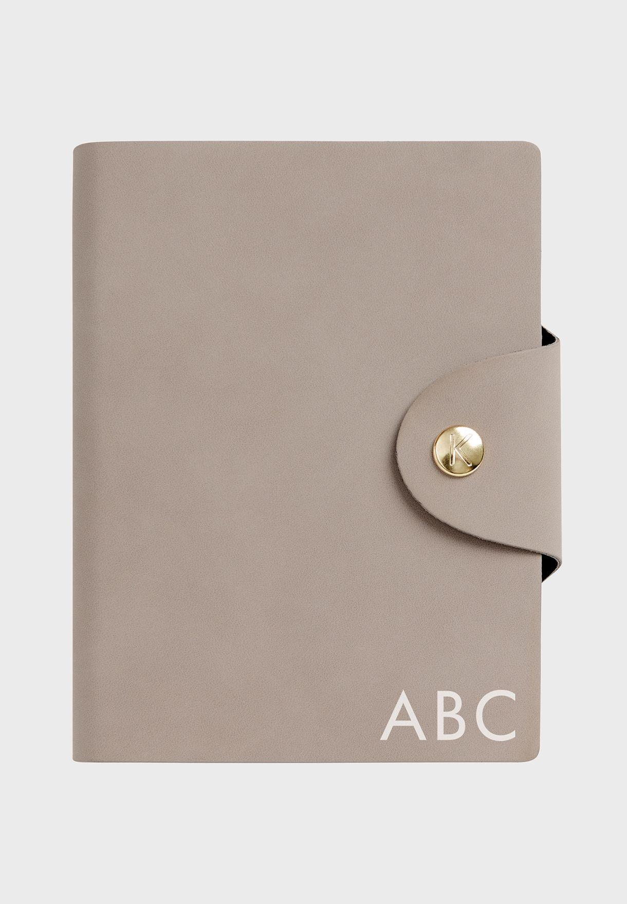 دفتر يوميات جلد A6