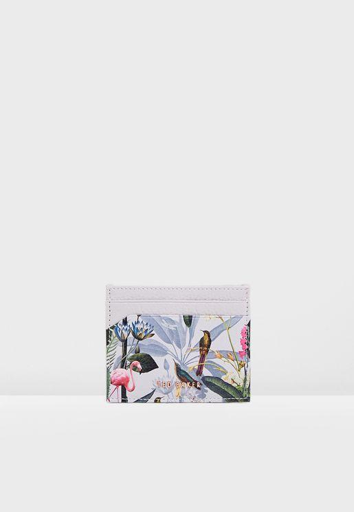 Oanah Pistachio Flamingo Cardholder