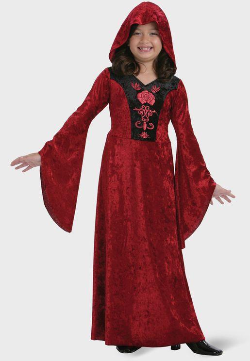 Youth Gothic Vampiress Costume