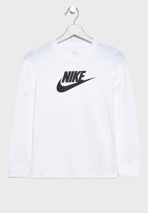 Youth Essential Futura Hook T-Shirt