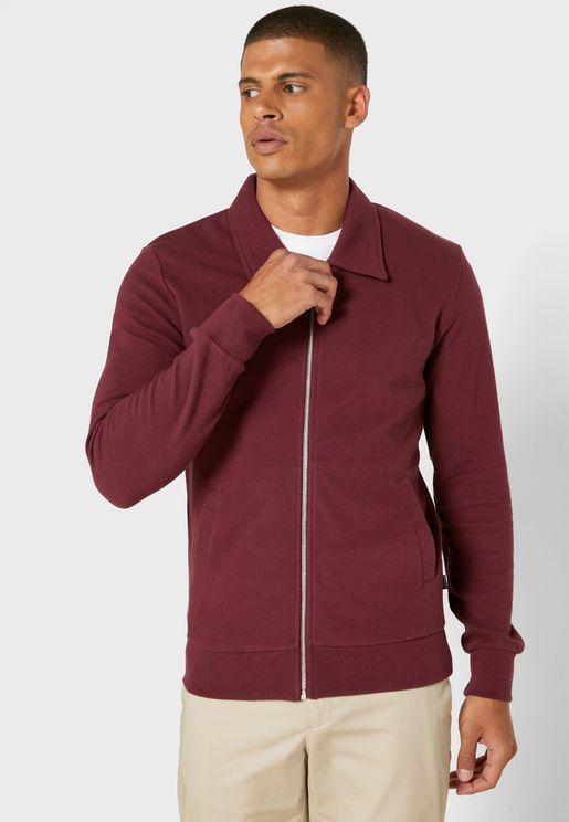Essential Zip Through Sweatshirt