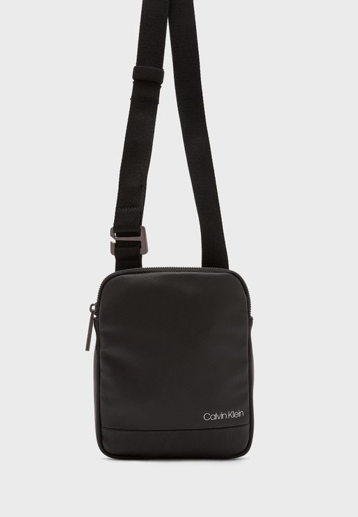 Contrast Messenger Bag