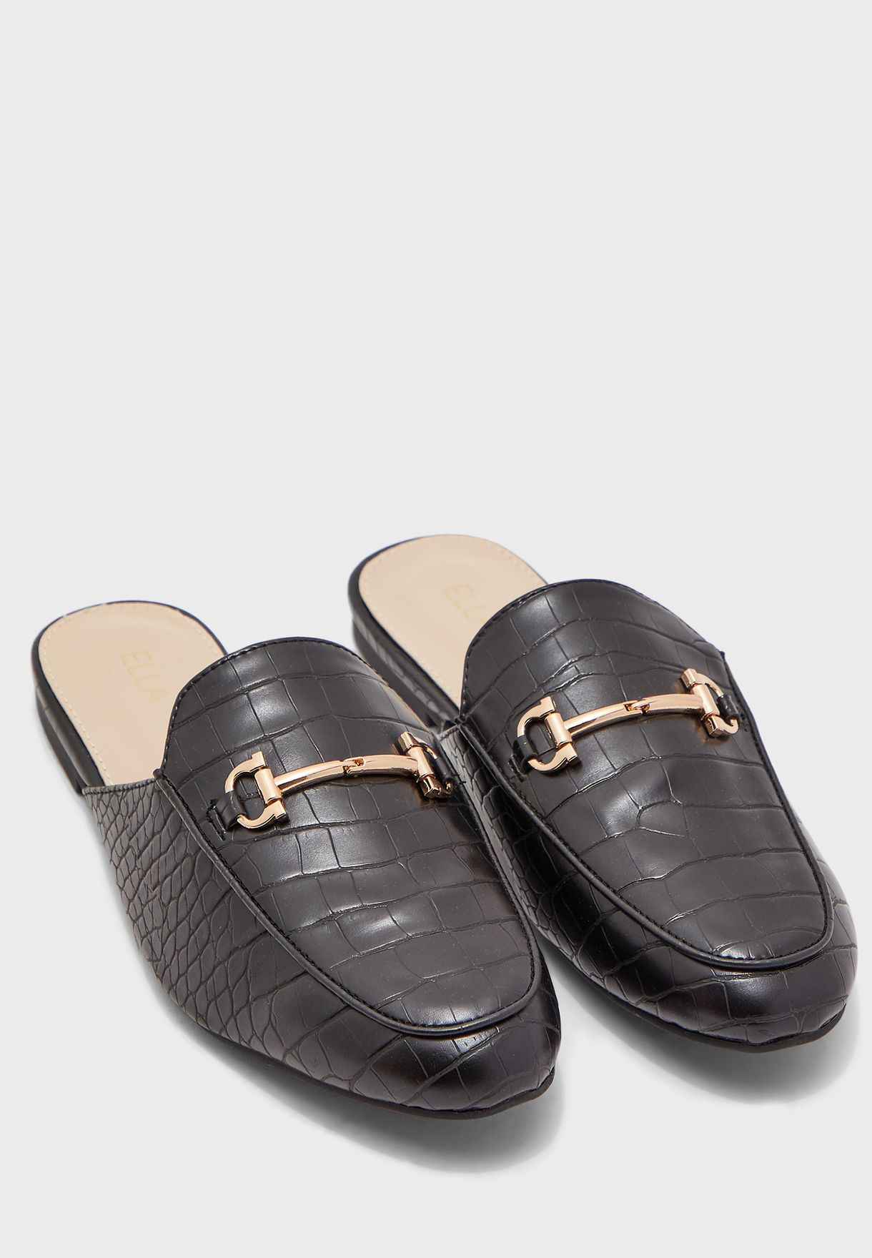 Slip On Mule Loafers