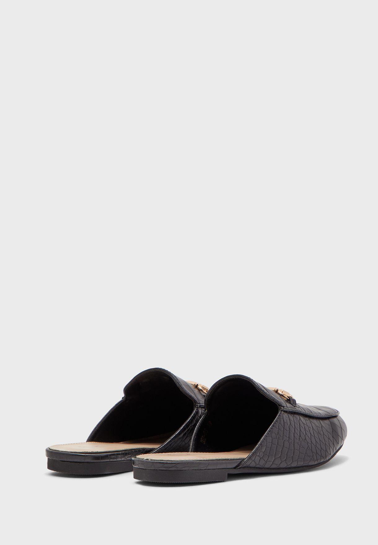 حذاء لوفر مبطن