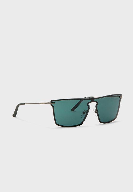 Ck18114S Rectangular Sunglasses