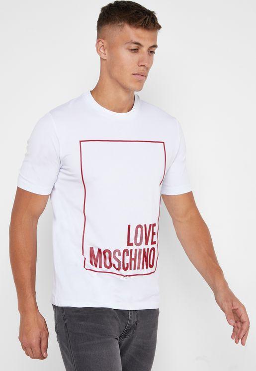 Box Logo Crew Neck T-Shirt