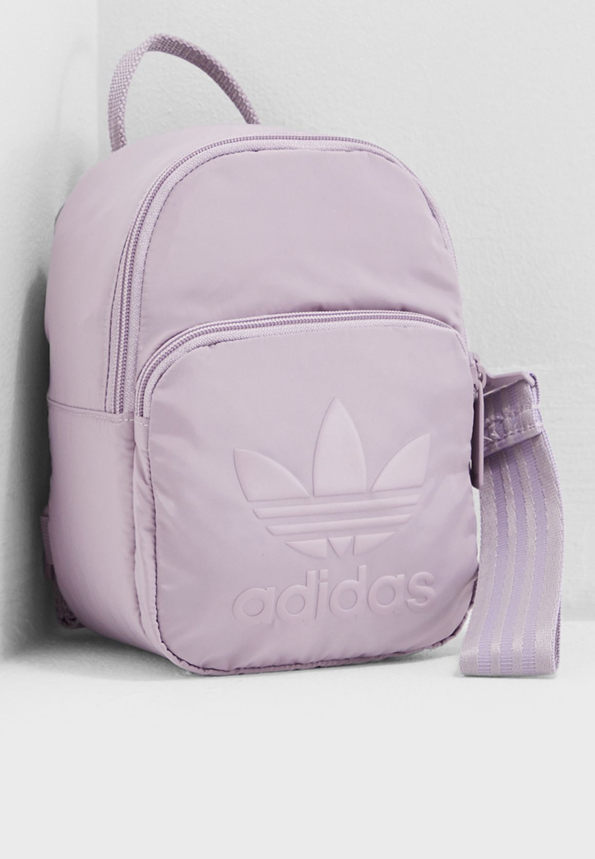 b70d136340 Shop adidas Originals grey Extra Small Backpack DV0213 for Women in ...