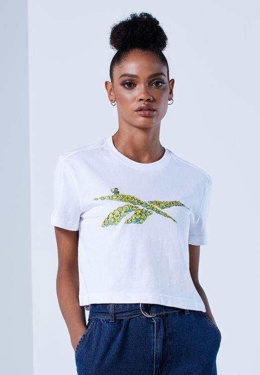 Minion Cropped T-Shirt