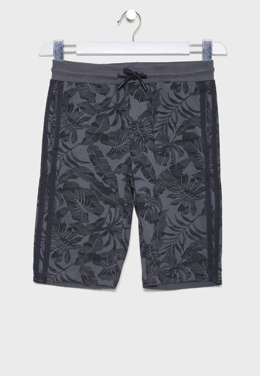 Kids Tropical Shorts