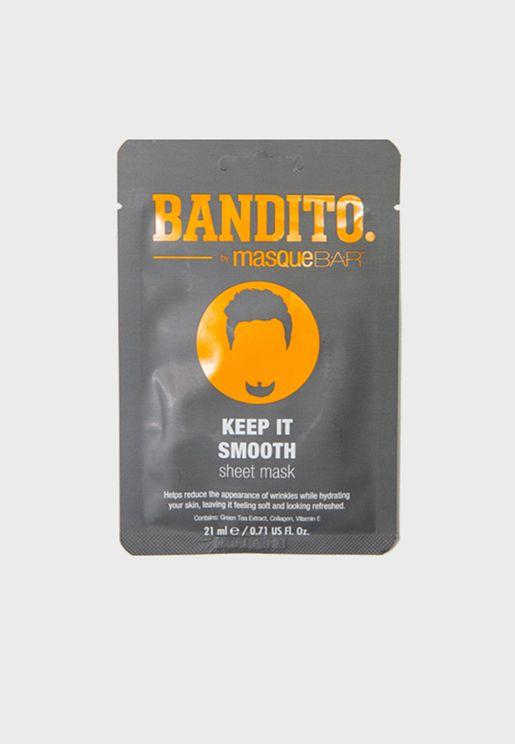 Bandito Keep It Smooth Sheet Mask 21ml
