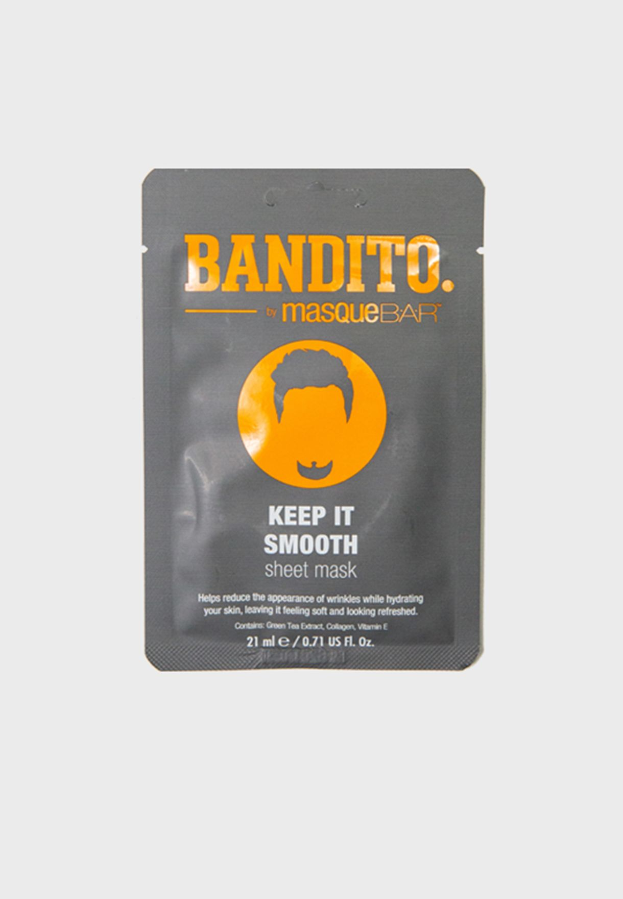 Bandito Keep It Smooth Sheet Mask 21ml