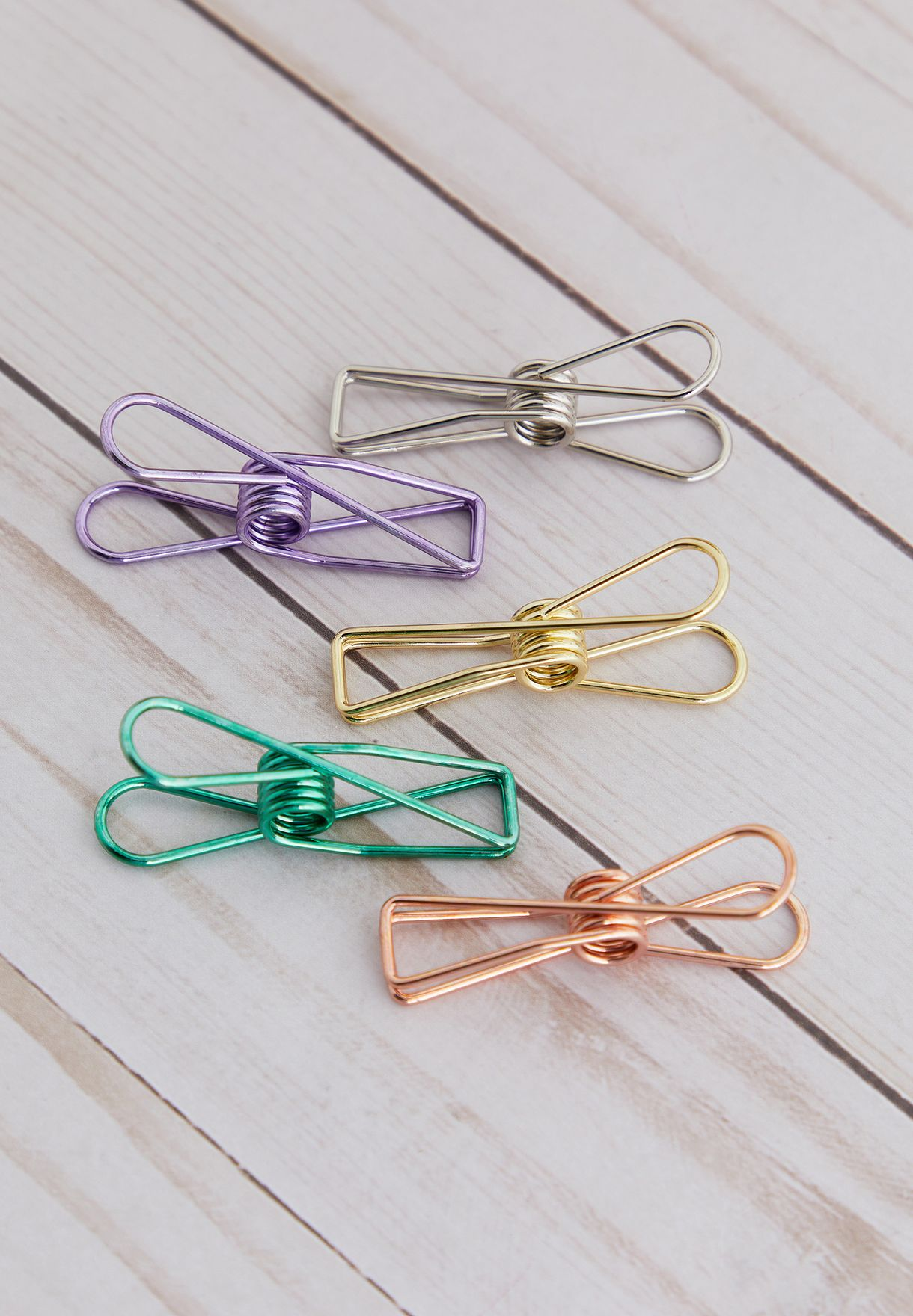 Set of 5 Large Paper Clips