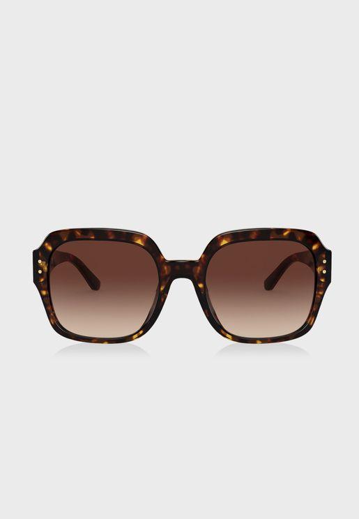 0Ty7143U Oversized Sunglasses