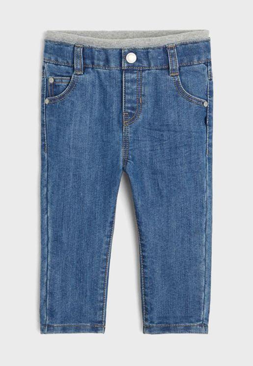 Infant Denim Straight Jeans