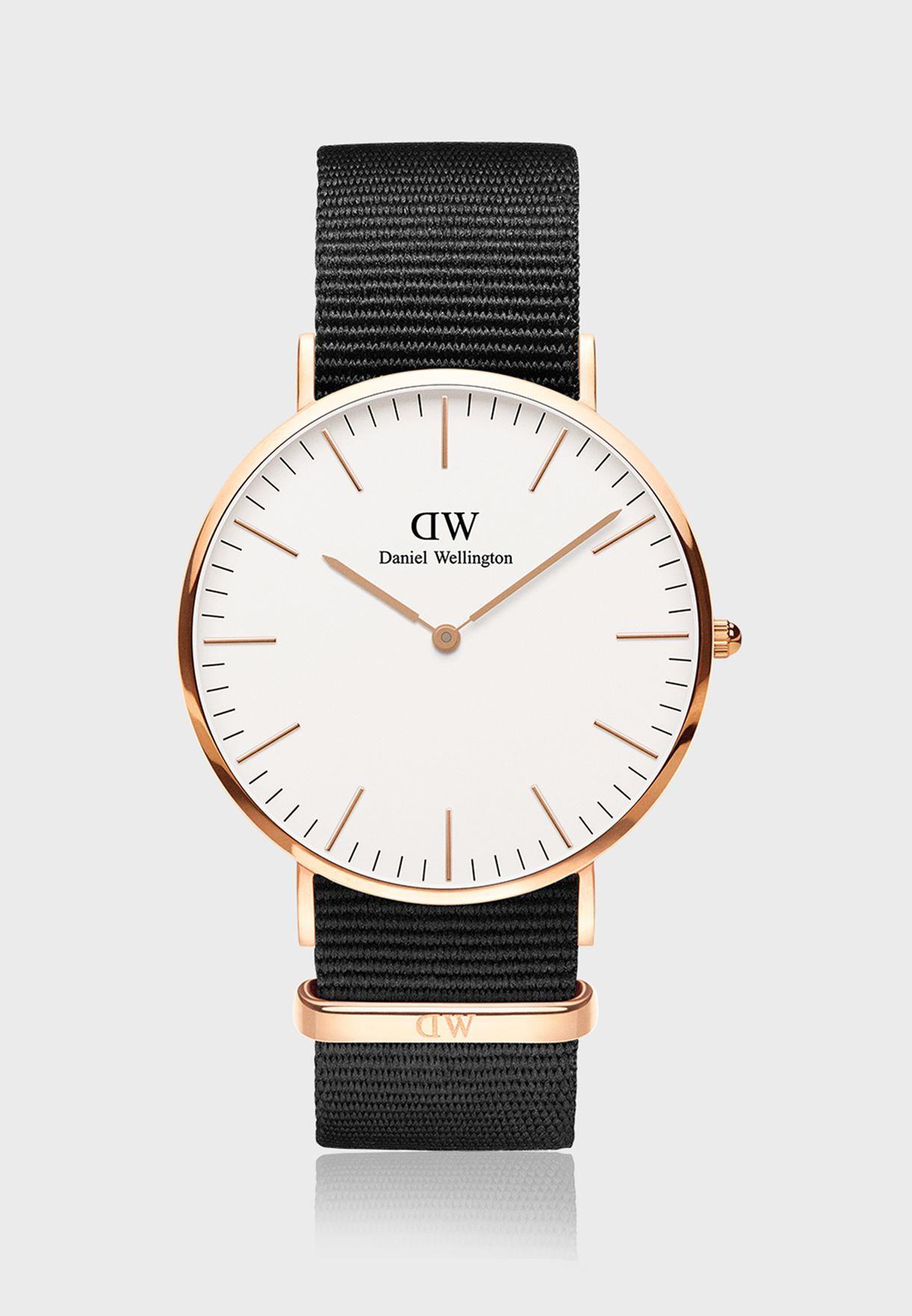 ساعة كورنول ار جي وايت الكلاسيكية 40 مم