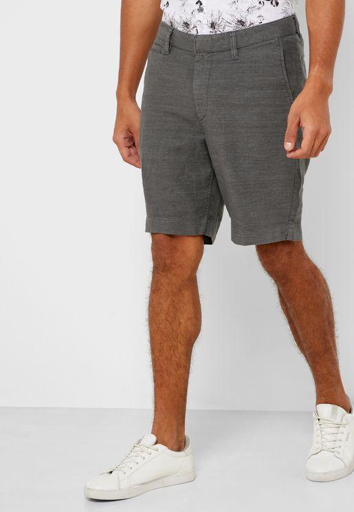 Johny Textured Shorts