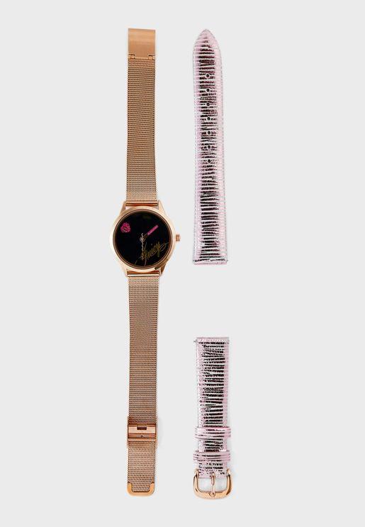 Multi Strap Analog Watch