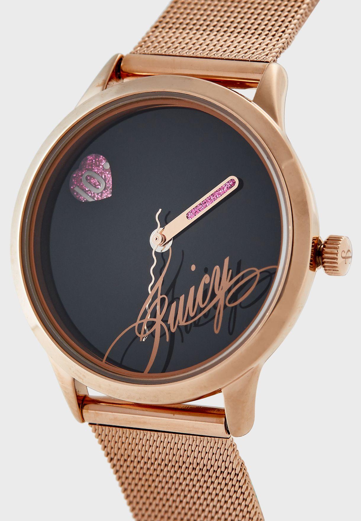ساعة انالوج من مجموعة بلاك ليبل