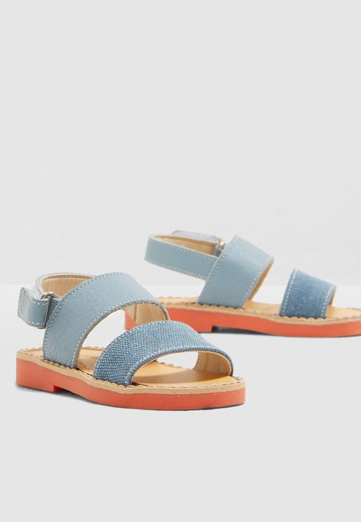 Kids Single Strap Sandal