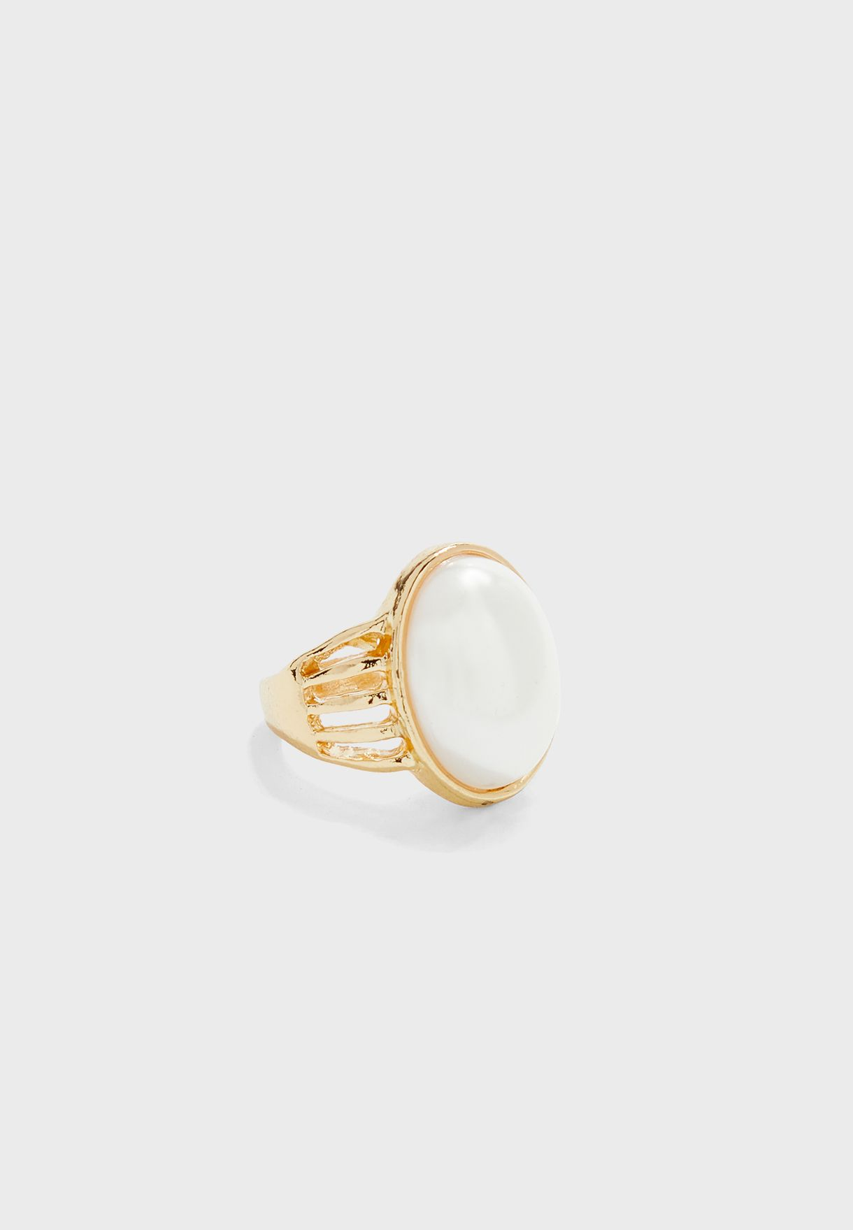 Oval Stone Ring