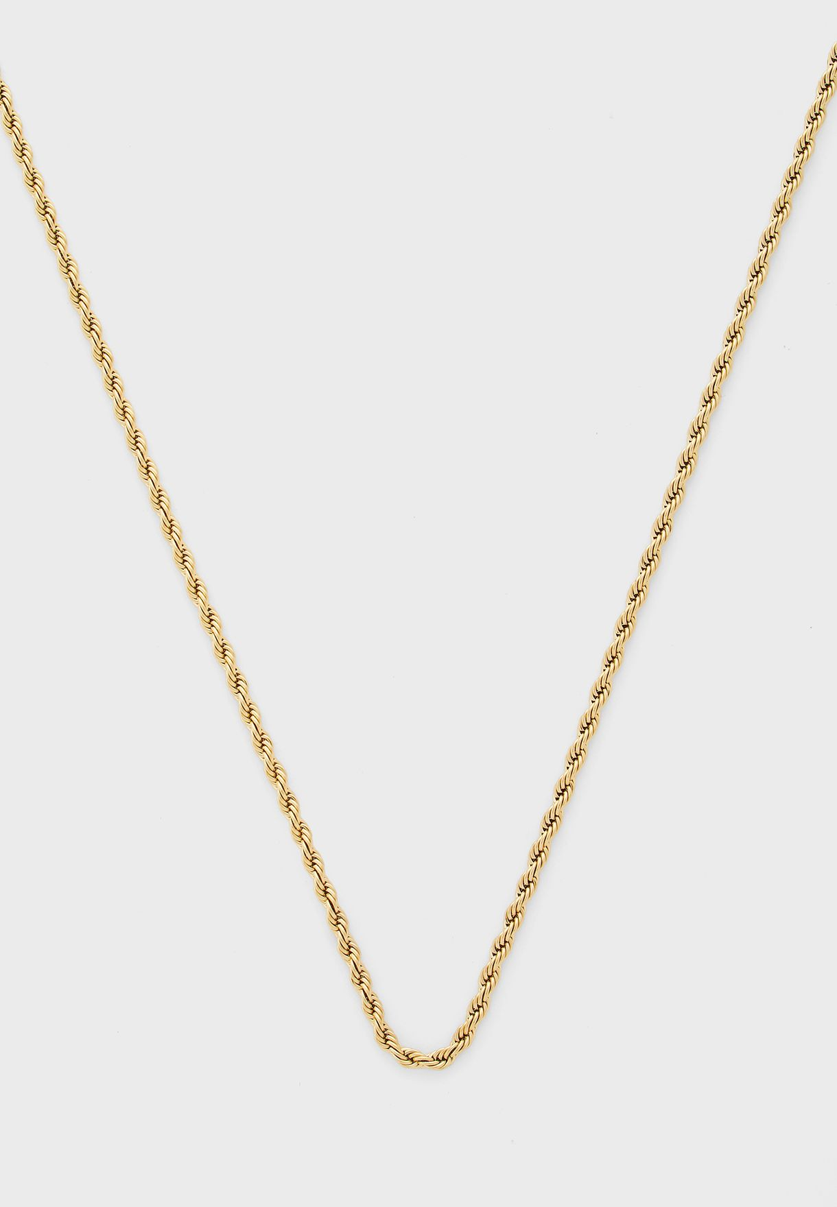 Pack Of 2 Twisted Chain Necklace And Bracelet