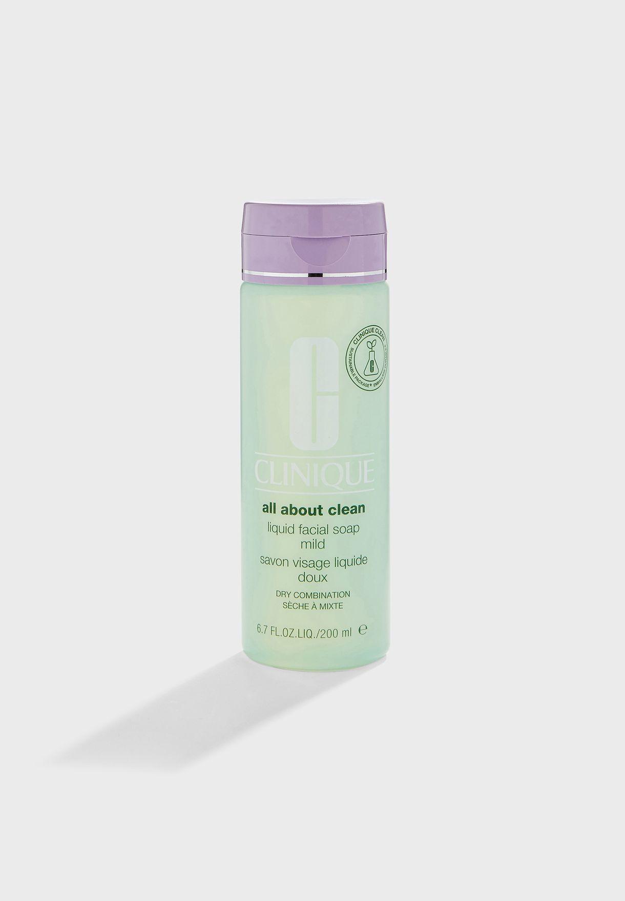 Mild Liquid Facial Soap 200ml