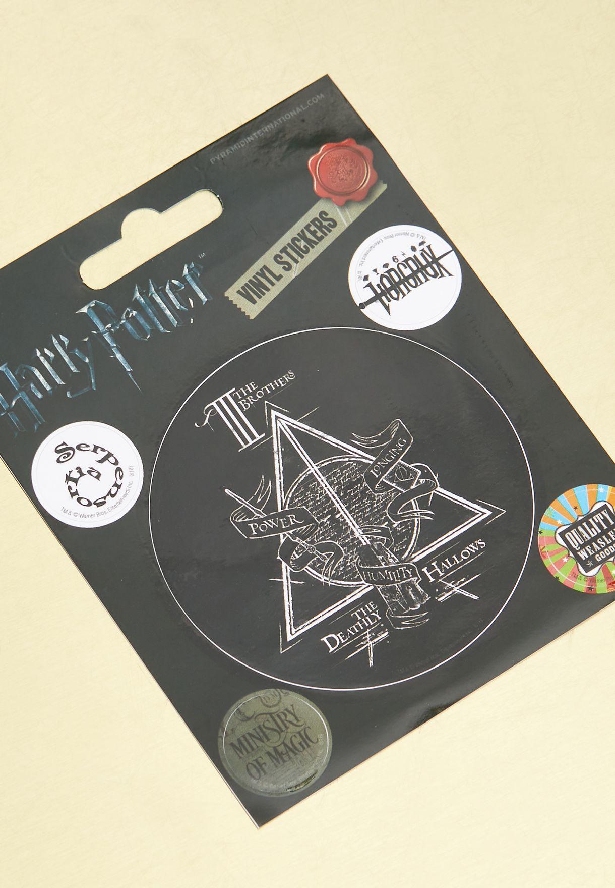 ملصقات هاري بوتر
