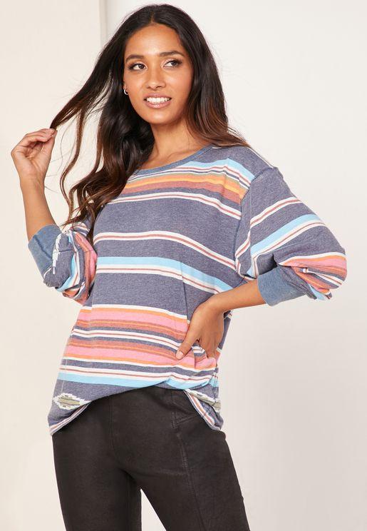 Arielle  Striped Top