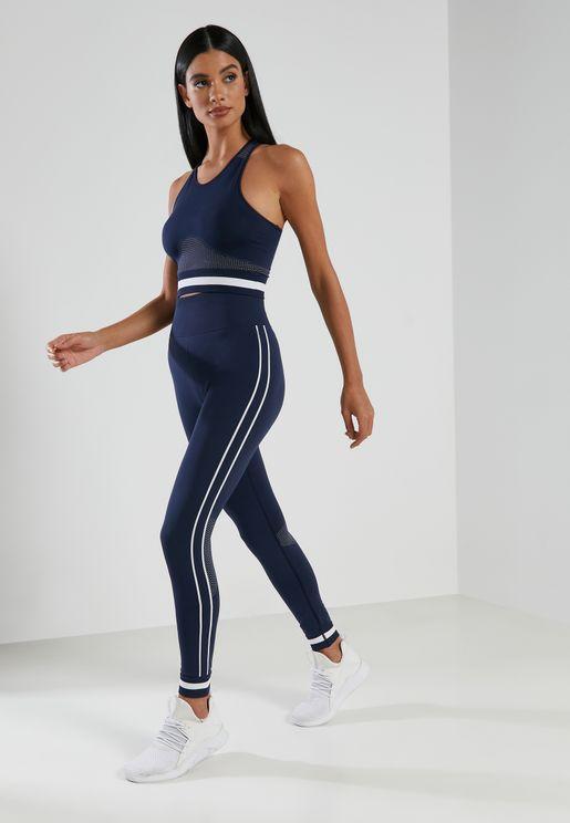 Seamless Midi Track Pants