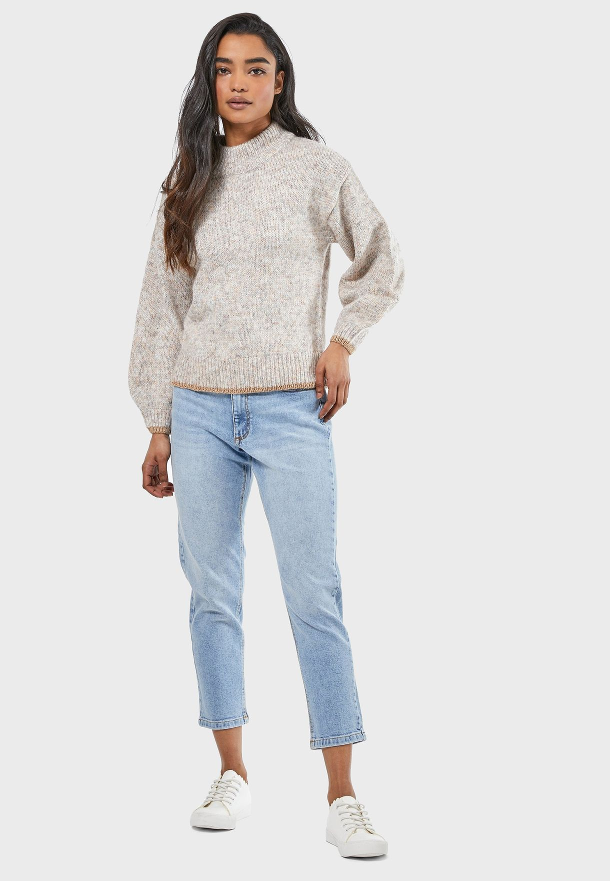 MOTO High Rise Mom Jeans