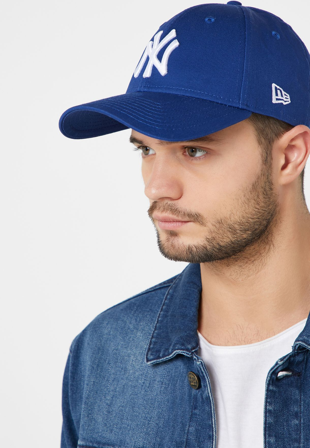 Shop New Era navy 9Forty New York Yankees Cap 11157579 for Men ... 16938fb0d37