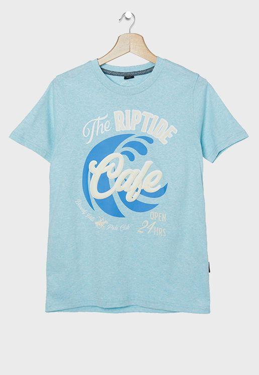 Kids Riptide Cafe T-Shirt