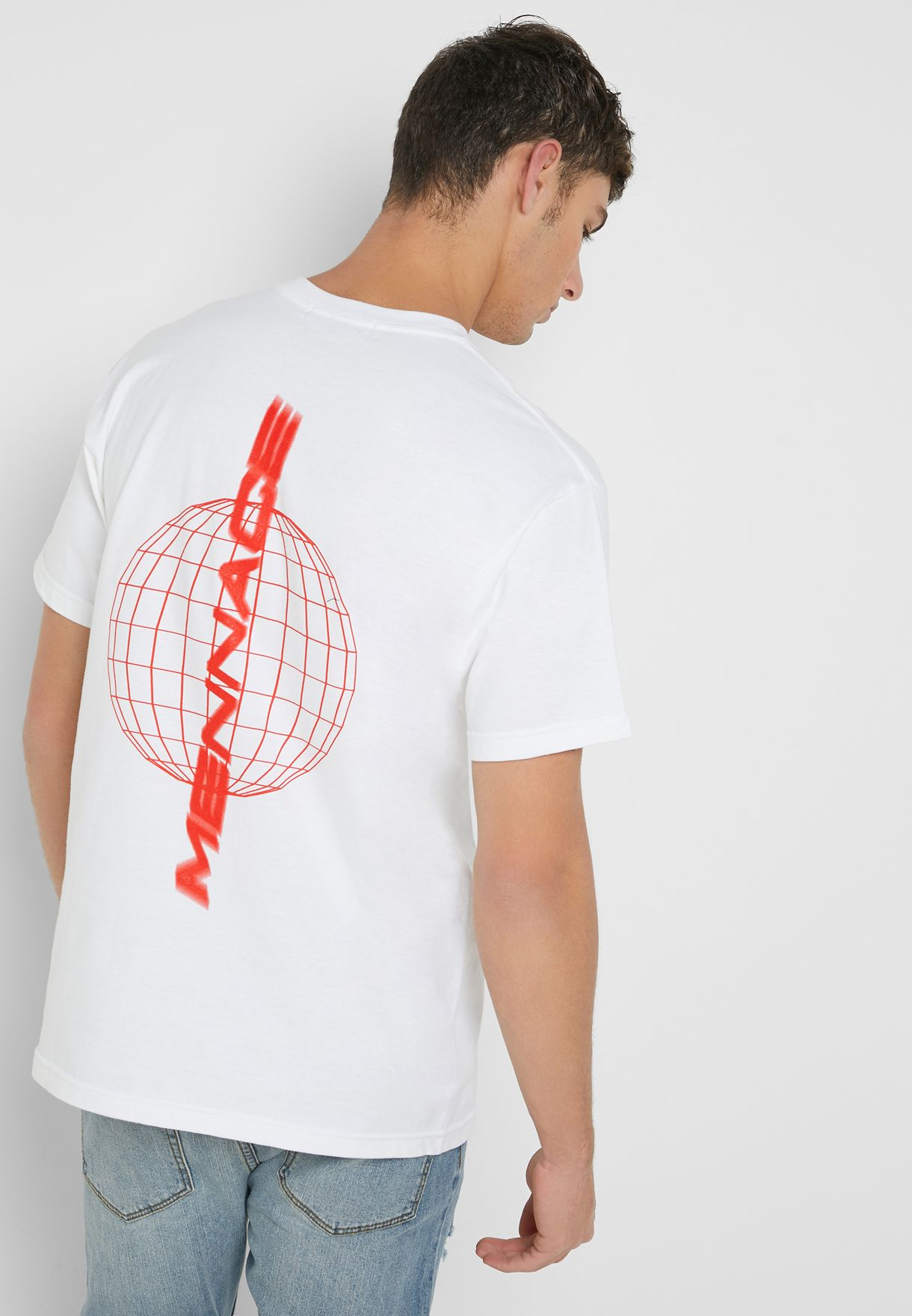 Sphere Motion Crew Neck T-Shirt
