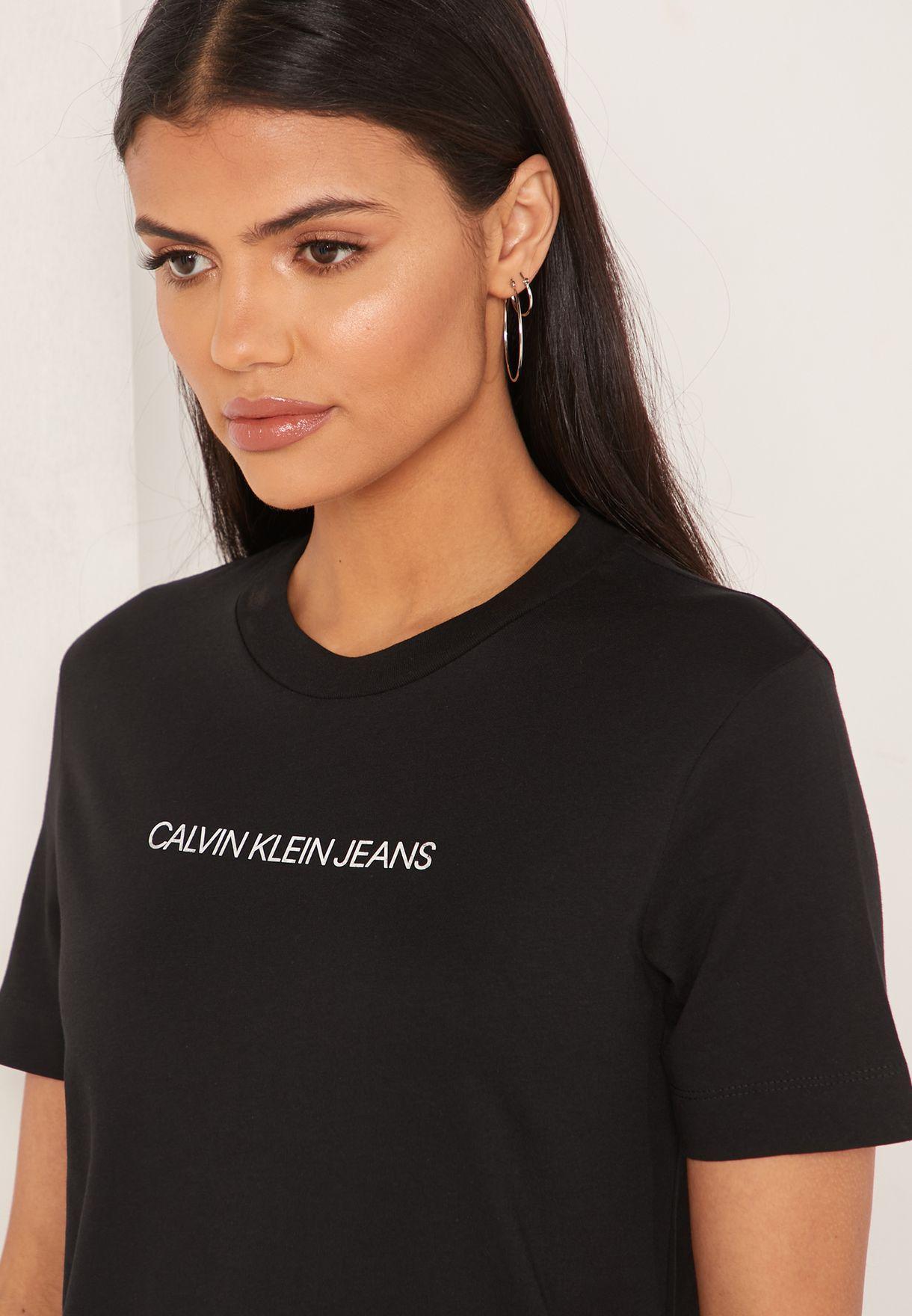 Institutional Logo T-Shirt Dress
