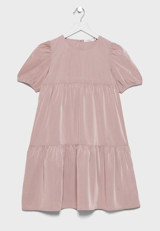 Kids Pleated Dress