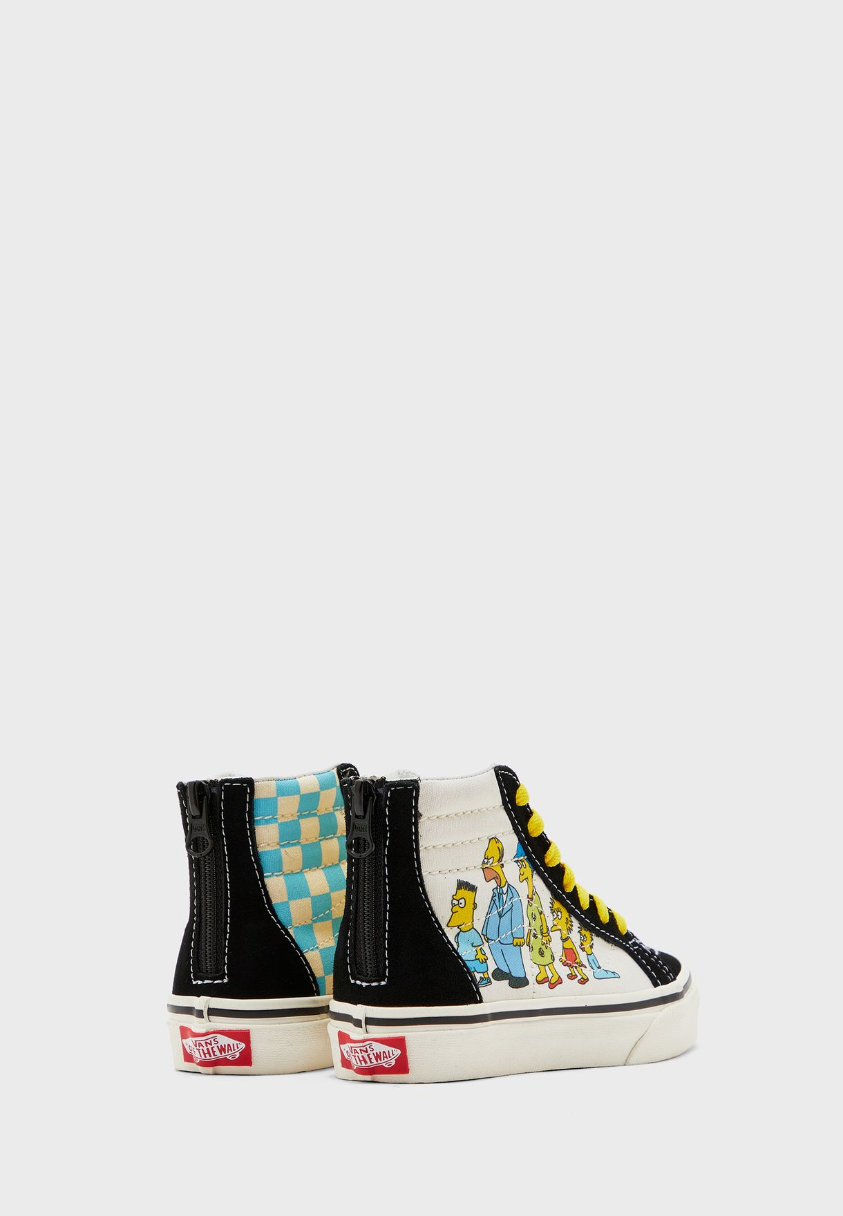 Kids Simpsons SK8-Hi Zip