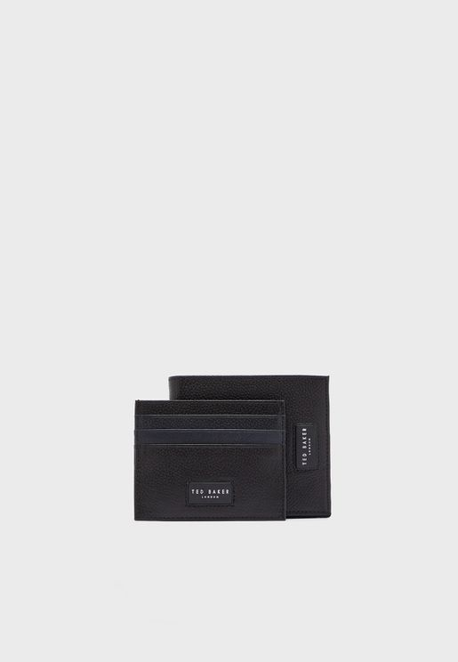 Grenada Wallet + Card Holder Gift Set