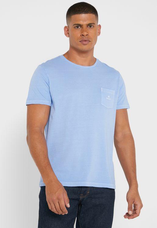 Sunfaded Crew Neck T-Shirt