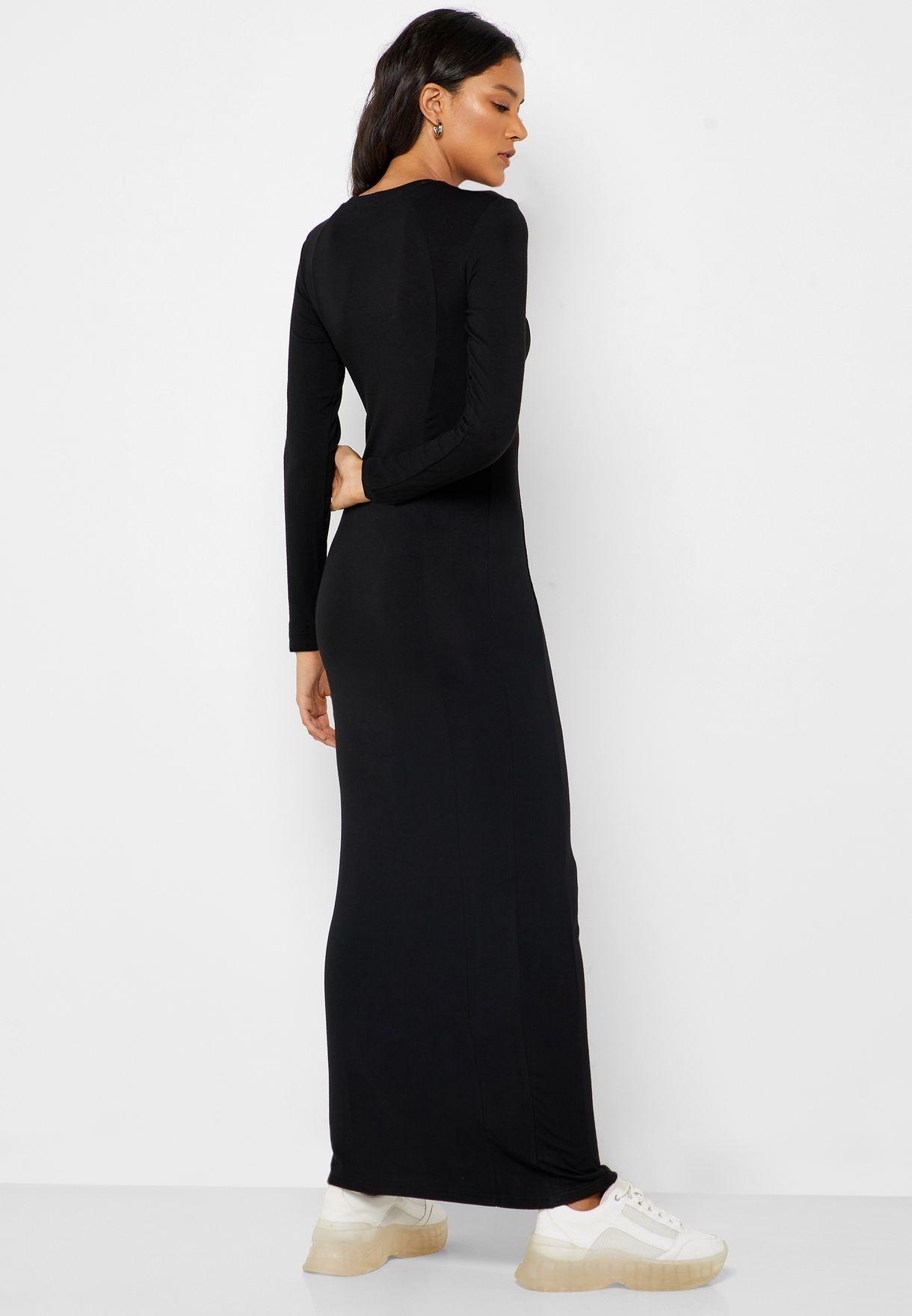 Bodycon Maxi Dress